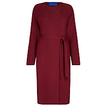 Buy Winser London Milano Wool Wrap Coat, Rich Burgundy Online at johnlewis.com