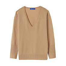 Buy Winser London Cashmere V Neck Jumper Online at johnlewis.com