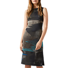 Buy Jigsaw Ocean Tide Jacquard Dress, Rock Online at johnlewis.com