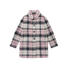 Buy Jigsaw Girls' Pretty Checked Coat, Multi Online at johnlewis.com