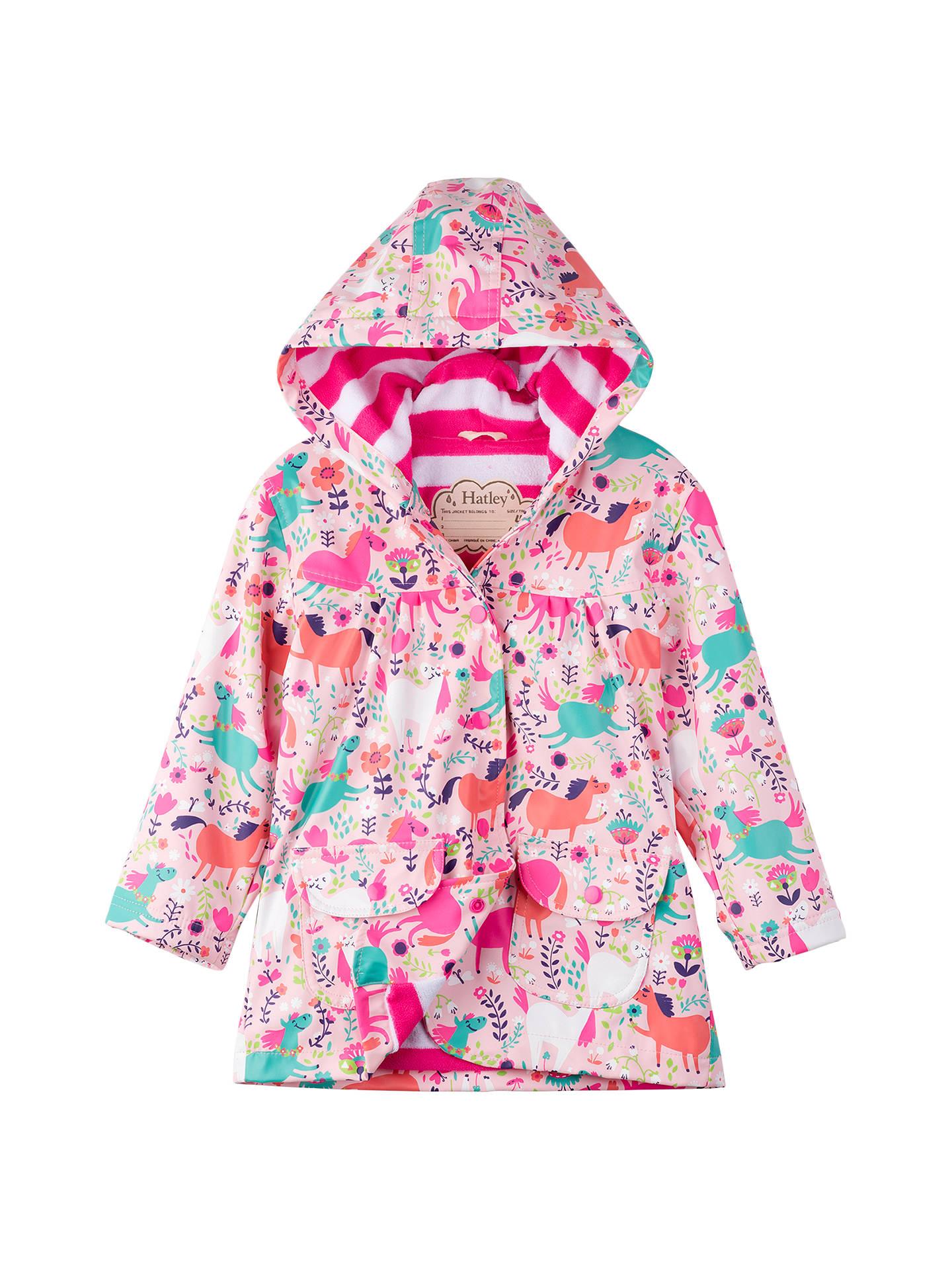 b67b15462 Hatley Girls  Roaming Horses Raincoat