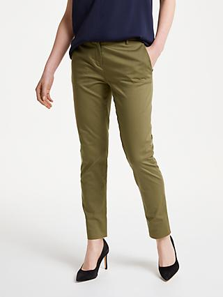 Winser London Cotton Twill Straight Leg Trousers