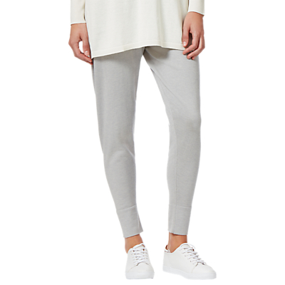 Winser London Casual Luxe Trousers, Grey Marl