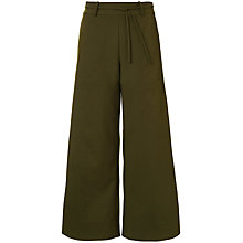Buy Winser London Cotton Twill Cropped Trousers Online at johnlewis.com