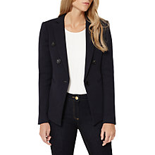 Buy Damsel in a dress Textured Blazer, Navy Online at johnlewis.com