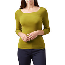 Buy Hobbs Sophia Jumper, Mimosa Online at johnlewis.com