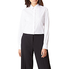 Buy Hobbs Elizabeth Shirt, White Online at johnlewis.com