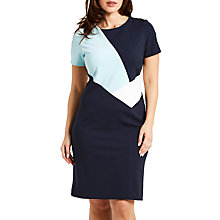 Buy Celuu Suzie Colour Block Dress, Mint Online at johnlewis.com