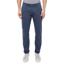 Buy Ted Baker Rivmay Textured Slim Trousers Online at johnlewis.com