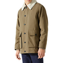 Buy Jigsaw Italian Cotton Blizzard Coat Online at johnlewis.com