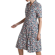 Buy Seasalt Bossava Dress, Vintage Leaf Night Online at johnlewis.com