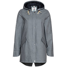 Buy Seasalt RAIN® Collection Bowsprit Waterproof Coat, Pontoon Squid Ink Online at johnlewis.com