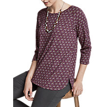 Buy Seasalt Redon Top, Penwith Geo Rosewood Online at johnlewis.com