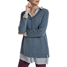 Buy Seasalt Clouded Sky Jumper, Air Online at johnlewis.com