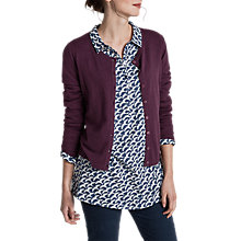 Buy Seasalt Gwennap Cardigan, Rosewood Online at johnlewis.com