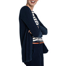 Buy Seasalt Luma Cardigan, Indigo Dye Online at johnlewis.com