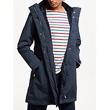 Buy Seasalt RAIN® Collection Spinnaker Waterproof Coat, Fathom Online at johnlewis.com