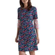 Buy Seasalt Wild Bluebell Dress, Textured Meadow Night Online at johnlewis.com