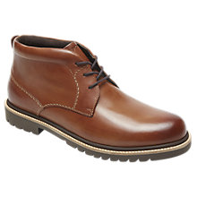 Buy Rockport Marshall Chukka Boots, Cognac Online at johnlewis.com