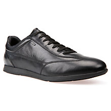 Buy Geox Clemet Trainers, Black Online at johnlewis.com