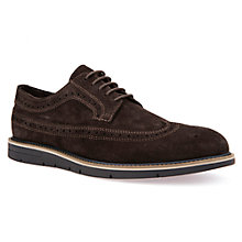 Buy Geox Uvet Derby Shoes, Brown Online at johnlewis.com