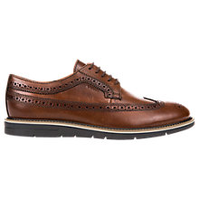 Buy Geox Uvet Derby Shoes, Cognac Online at johnlewis.com