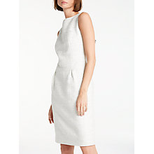 Buy Bruce by Bruce Oldfield Sparkle Shift Dress, Ivory/Silver Online at johnlewis.com