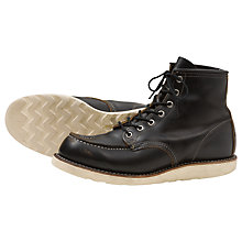 Buy Red Wing 9874 Irish Setter Moc Toe Boot, Black Klondike Online at johnlewis.com