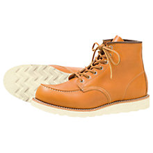 Buy Red Wing 9875 Irish Setter Moc Boot, Gold Russet Online at johnlewis.com