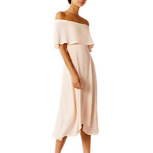 Buy Coast Brooke Midi Bridesmaid Dress, Blush Online at johnlewis.com