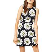 Buy Warehouse Melody Floral Shift Dress, Multi Online at johnlewis.com