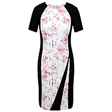 Buy Celuu Clare Panelled Dress, Pink Online at johnlewis.com