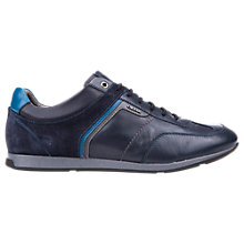 Buy Geox Clemet Trainers, Navy Online at johnlewis.com