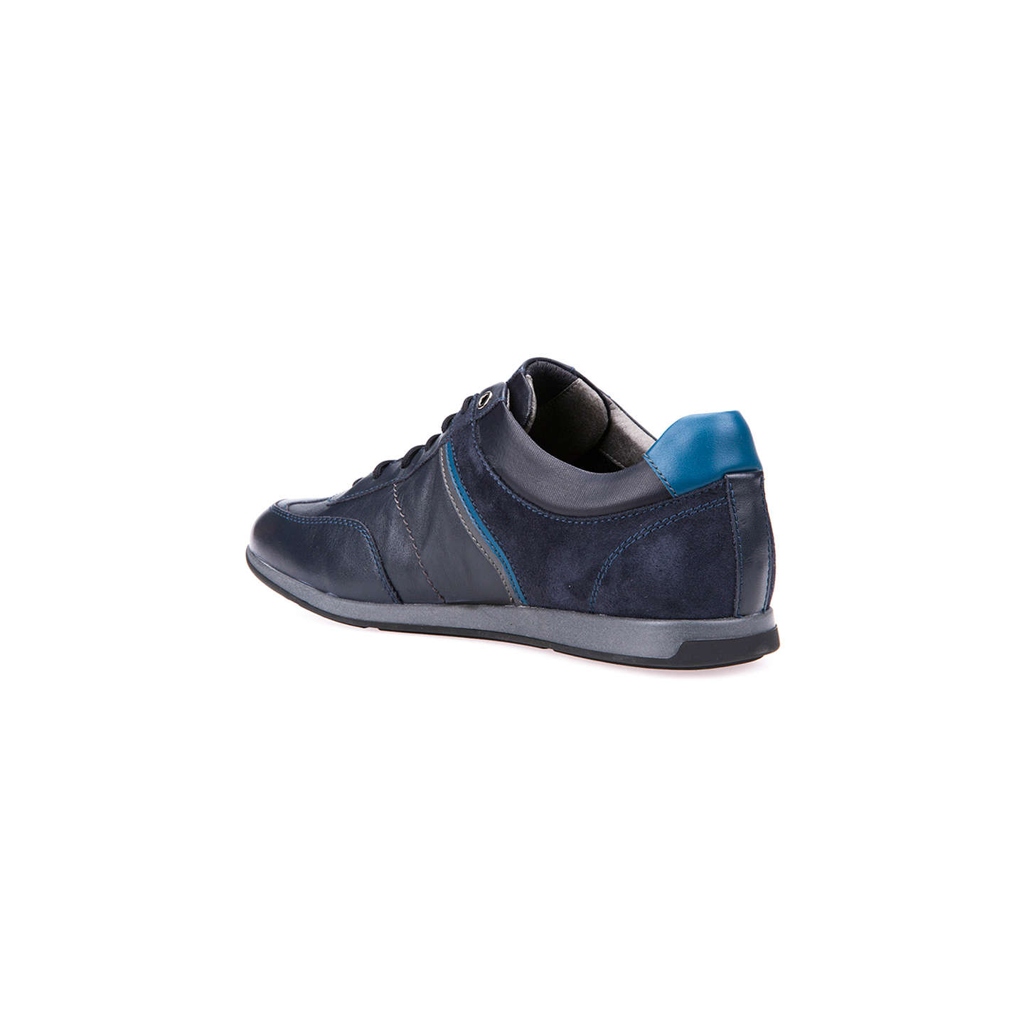 BuyGeox Clemet Trainers, Navy, 7 Online at johnlewis.com