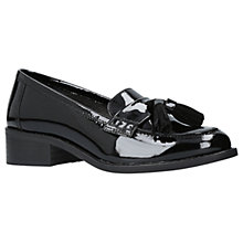 Buy Carvela Leanne Block Heeled Loafers, Black Online at johnlewis.com