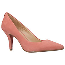 Buy MICHAEL Michael Kors Flex High Heeled Stiletto Court Shoes, Pale Pink Suede Online at johnlewis.com