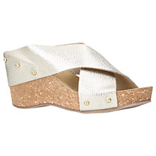 Buy Carvela Comfort Sooty Cross Strap Wedge Heeled Sandals Online at johnlewis.com