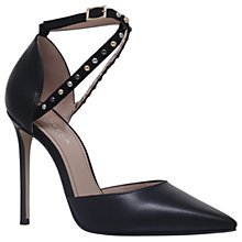Buy Carvela Acid Stiletto Heeled Court Shoes, Black Online at johnlewis.com