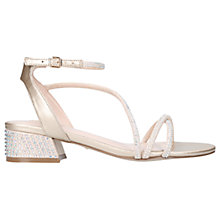 Buy Carvela Governor Strappy Block Heeled Sandals Online at johnlewis.com