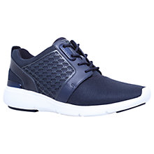 Buy MICHAEL Michael Kors Amanda MK Trainers, Navy Online at johnlewis.com
