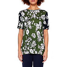 Buy Ted Baker Colour By Numbers Adren Floral Print T-Shirt Online at johnlewis.com