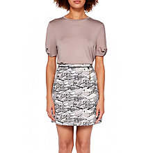 Buy Ted Baker Colour By Numbers Narva Jersey Cut Out Sleeve Top Online at johnlewis.com