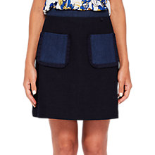 Buy Ted Baker Aaloo Colour By Numbers Denim Skirt, Mid Wash Blue Online at johnlewis.com