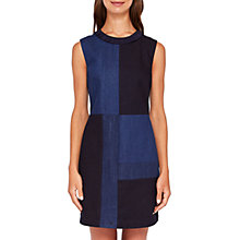 Buy Ted Baker Colour By Numbers Morfee Denim Dress, Mid Wash Blue Online at johnlewis.com