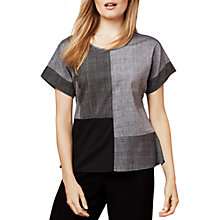 Buy East Mangalagiri Pocket Top, Black Online at johnlewis.com