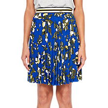 Buy Ted Baker Colour By Numbers Zakai Floral Pleated Skirt Online at johnlewis.com