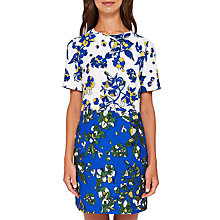 Buy Ted Baker Canvas Colour-Block Floral Tunic, Dark Blue/Multi Online at johnlewis.com