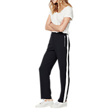 Buy Mint Velvet Zip Sports Trousers Online at johnlewis.com