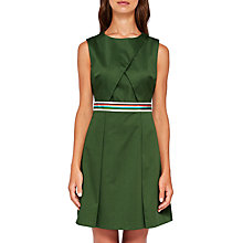 Buy Ted Baker Petta Striped Waist Wrap Bodice Sleeveless Dress Online at johnlewis.com