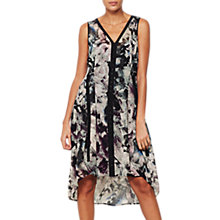 Buy Mint Velvet Starla Print Cocoon Dress, Multi Online at johnlewis.com